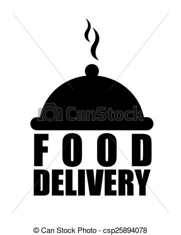 Vectors Illustration of food delivery design, vector illustration.