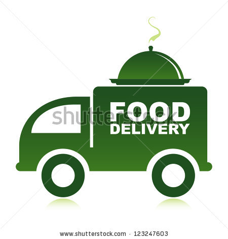 Food Delivery Stock Images, Royalty.
