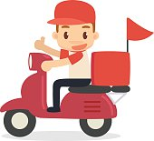 Food Delivery Clip Art, Vector Food Delivery.
