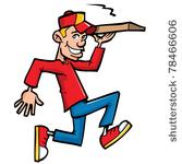 1904 free food delivery clipart.