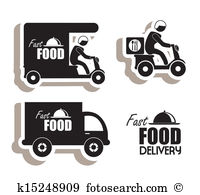 Food delivery Clip Art Illustrations. 6,683 food delivery clipart.