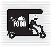 Food Delivery Clip Art.