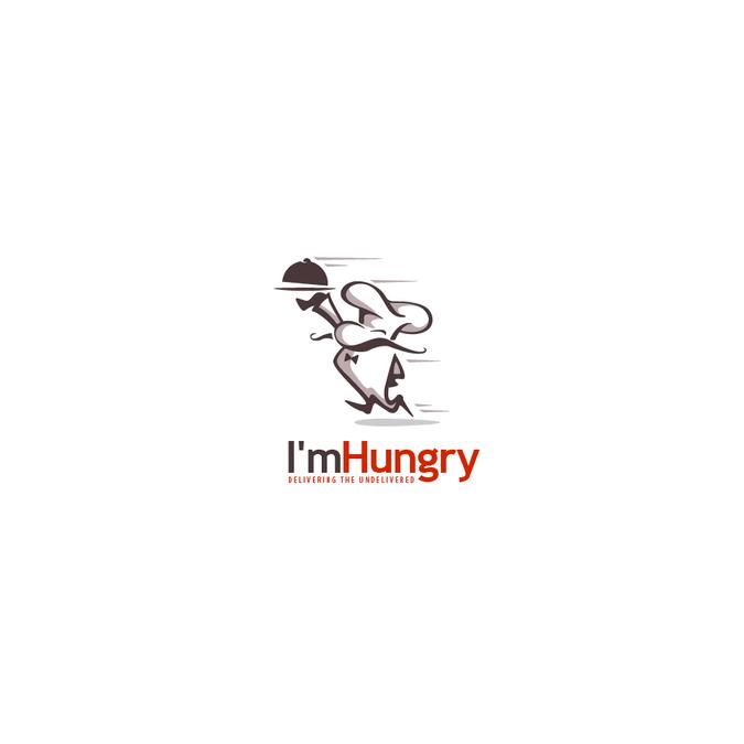 I\'m Hungry LOGO design.