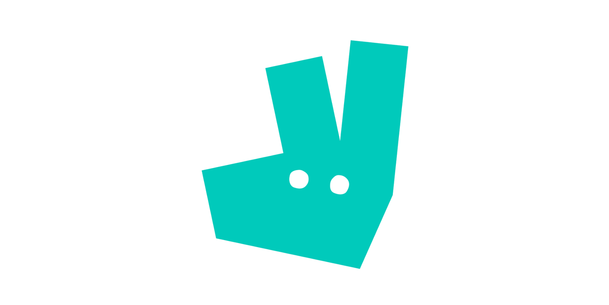 New Deliveroo logo.