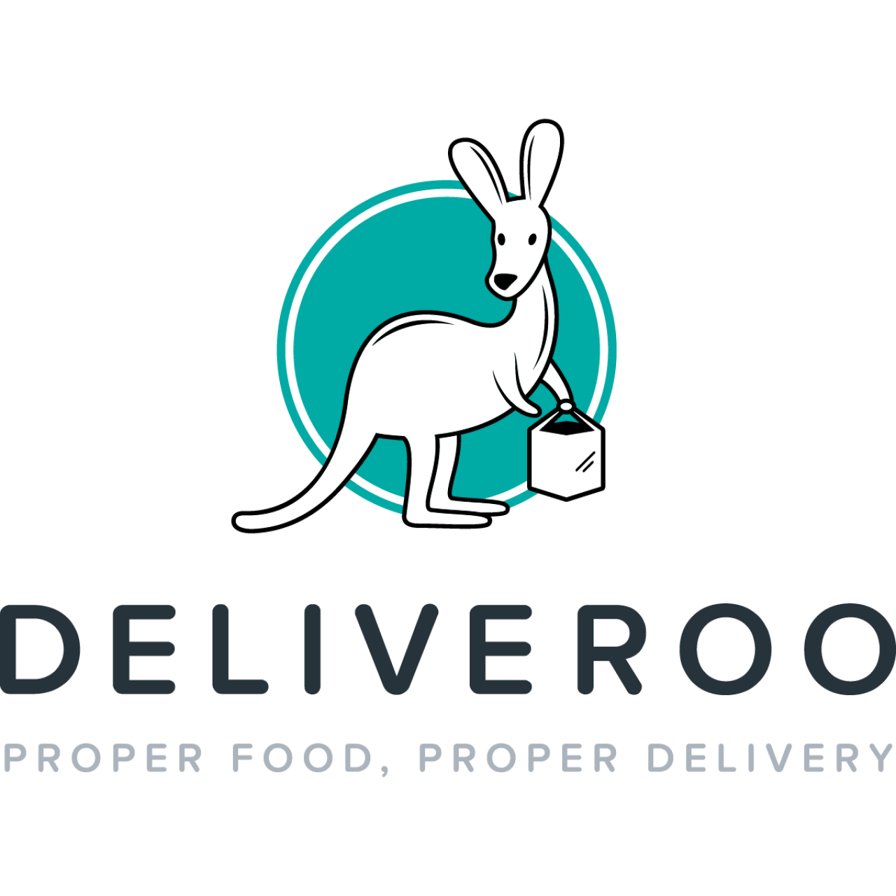 Deliveroo riders protest contract changes.