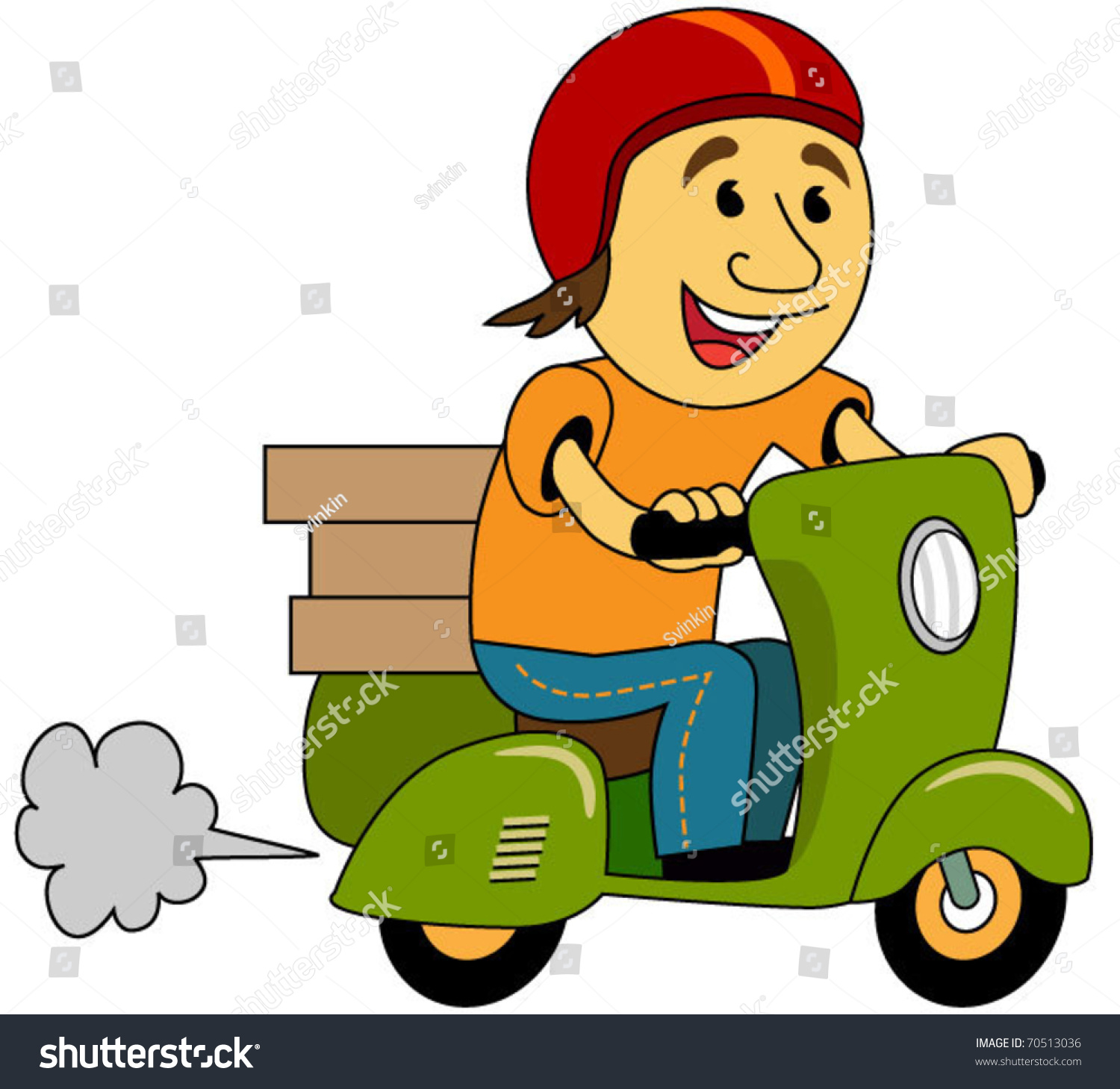 Delivery boy clipart 5 » Clipart Station.