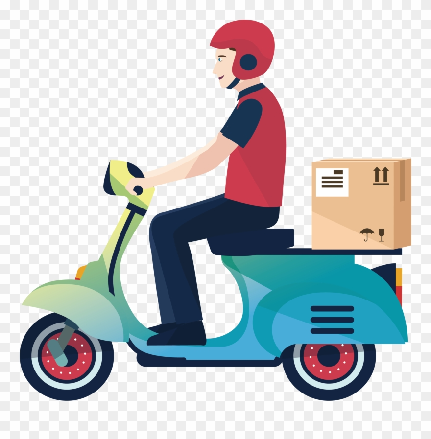 Delivery Motorcycle Courier Logistics Service A.