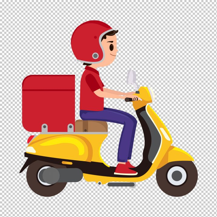 Delivery Boy PNG.