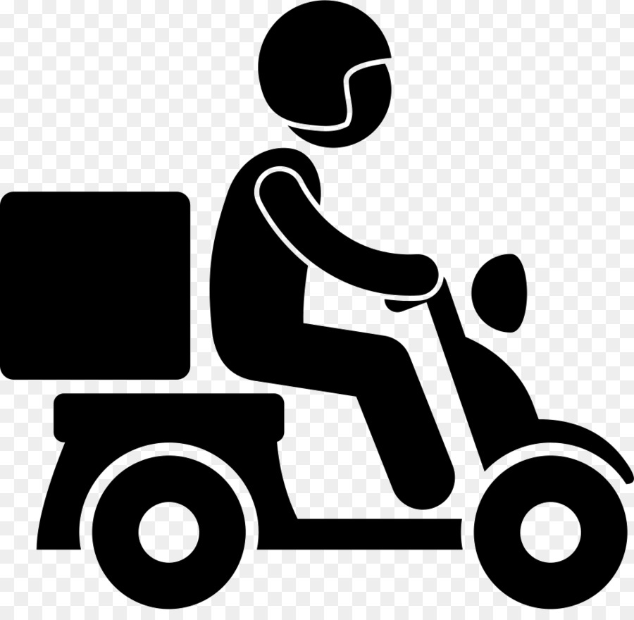 Delivery Silhouette png download.