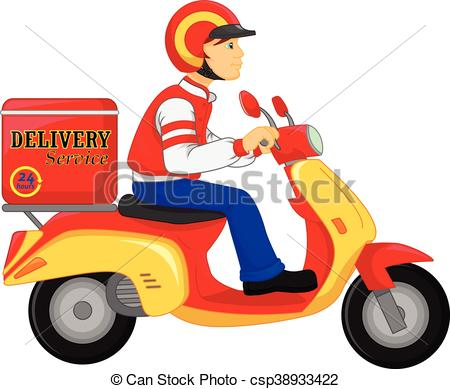 Delivery boy Illustrations and Clip Art. 4,419 Delivery boy royalty.