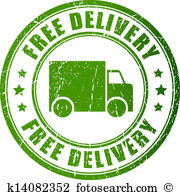 Free delivery Clipart Vector Graphics. 6,836 free delivery EPS.