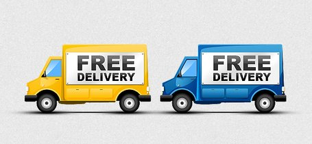 Free Delivery Truck Clip Art, Vector Free Delivery Truck.