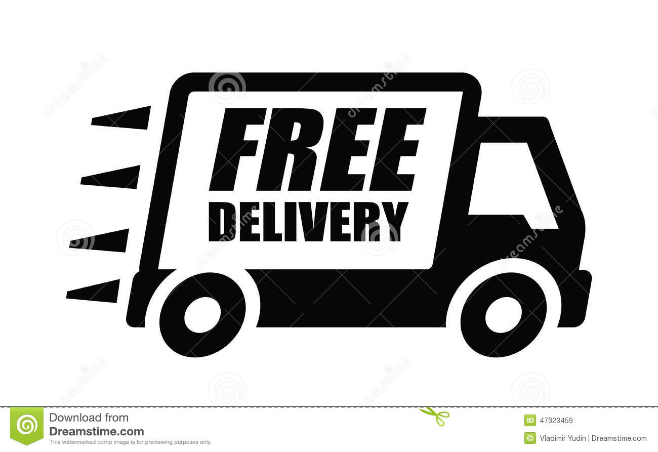 Free Delivery Stock Photography.
