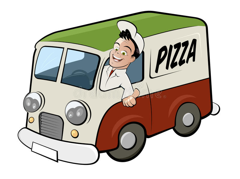 Delivery Driver Stock Illustrations.