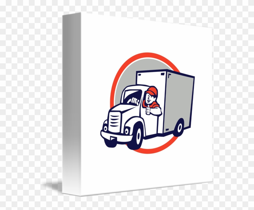Driver Clipart Delivery Driver.
