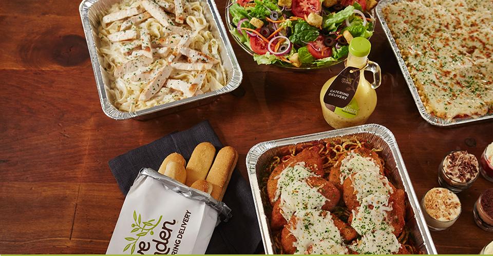 Delivery for Olive Garden Restaurants.