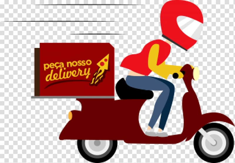 Pizza delivery illustration, Delivery Pizza Computer Icons.