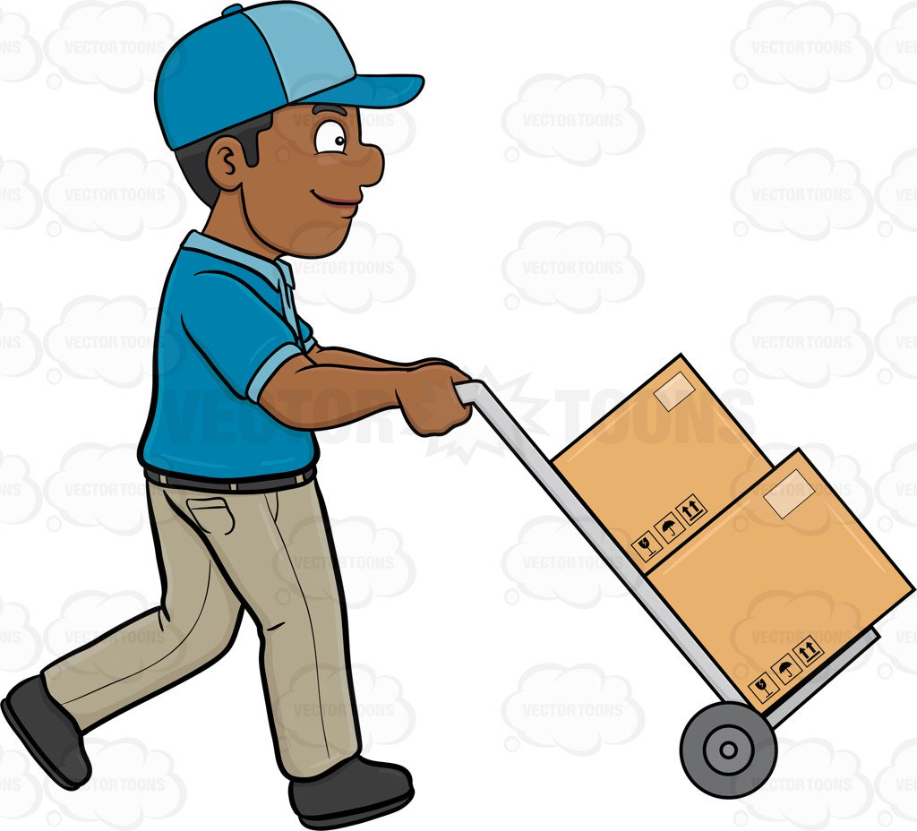 Delivery man clipart 1 » Clipart Station.