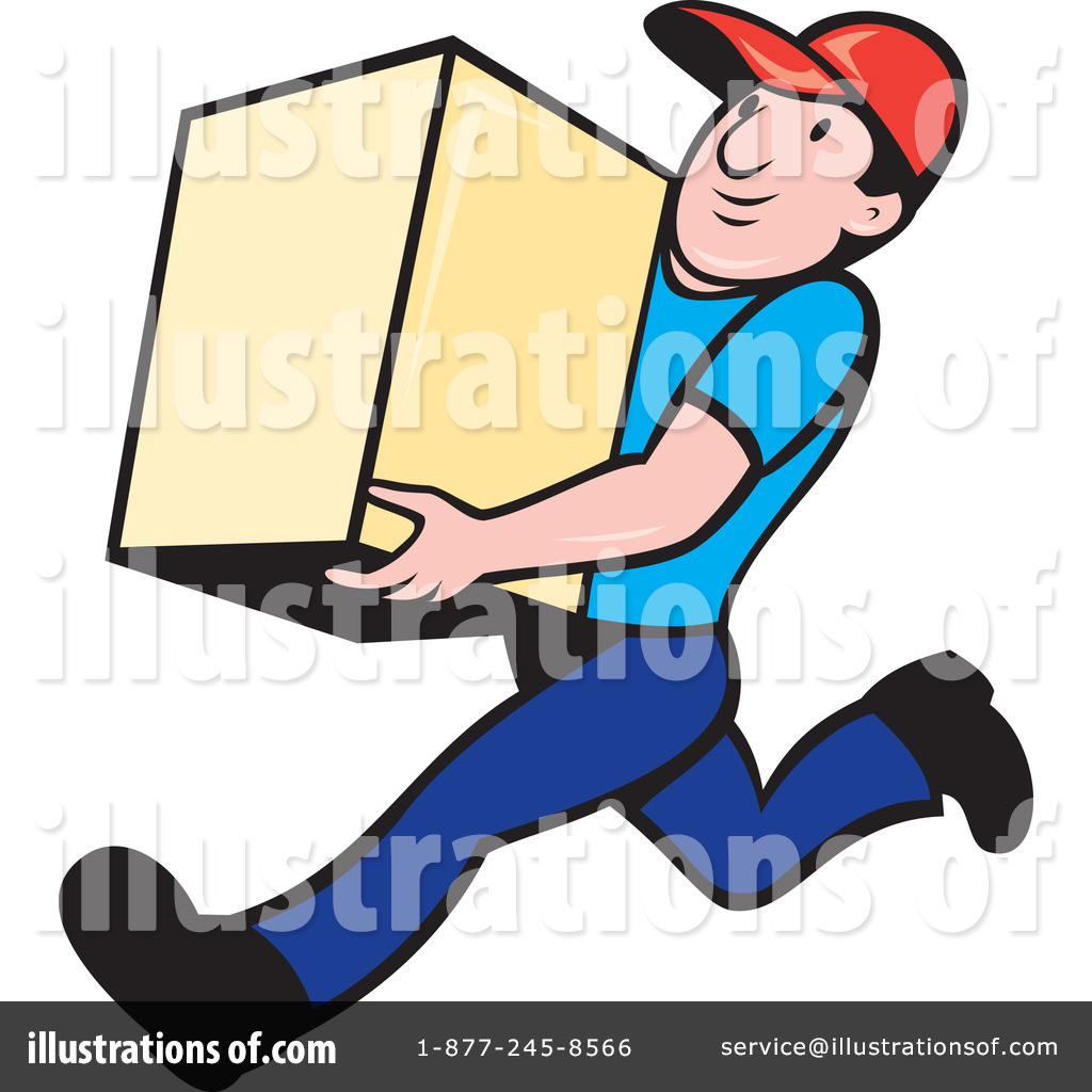Delivery Man Clipart #1068551.