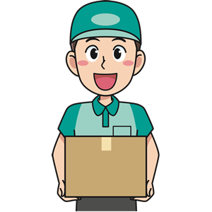 Deliveryman clipart, cliparts of Deliveryman free download (wmf, eps.