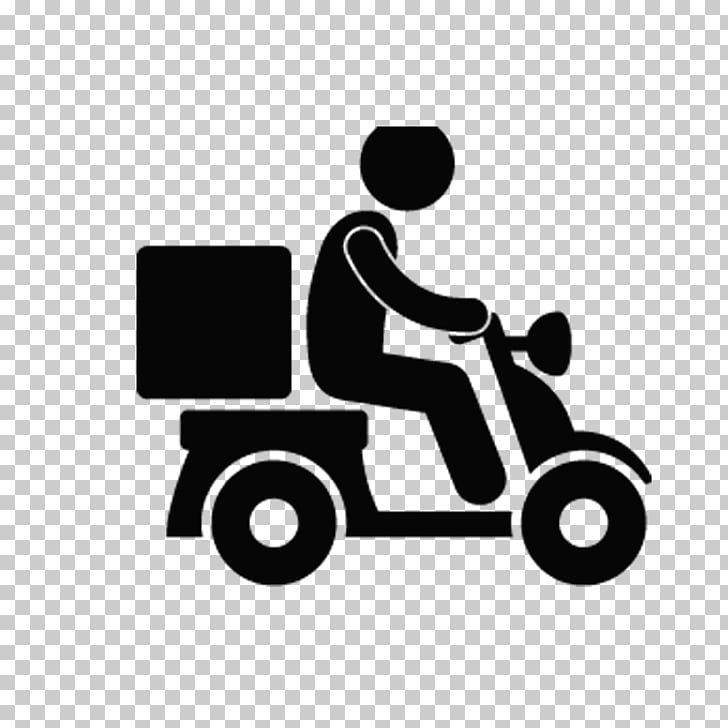 Delivery Chinese cuisine Transport Icon, Motorcycle, person.