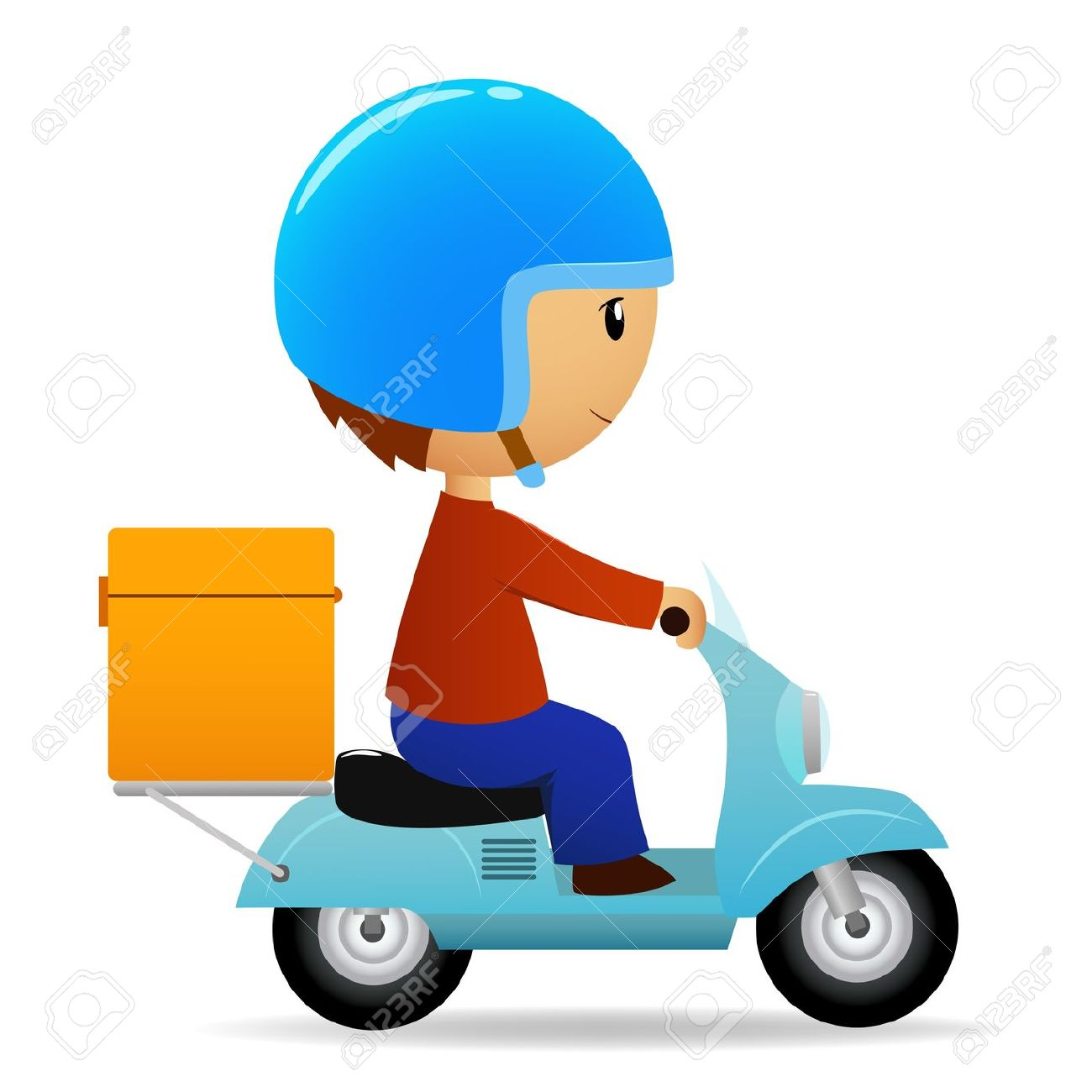 Home delivery clipart.