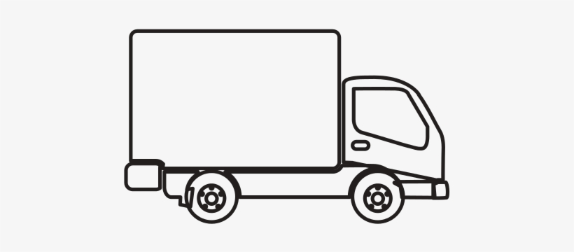 Delivery Truck Image.
