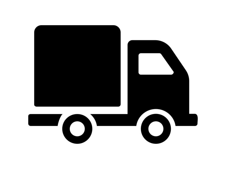 Truck svg Delivery Truck Cutting File Work Truck Clipart Scrapbooking SVG  DXF Sure Cuts a Lot Inkscape, Photoshop Element Truck Vector.