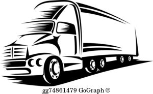 Delivery Truck Clip Art.