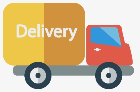 Free Delivery Truck Clip Art with No Background.