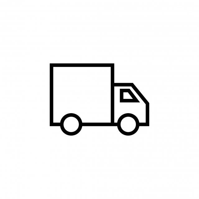 Delivery Truck Icon Graphic Design Template Vector, Icon, Graphic.