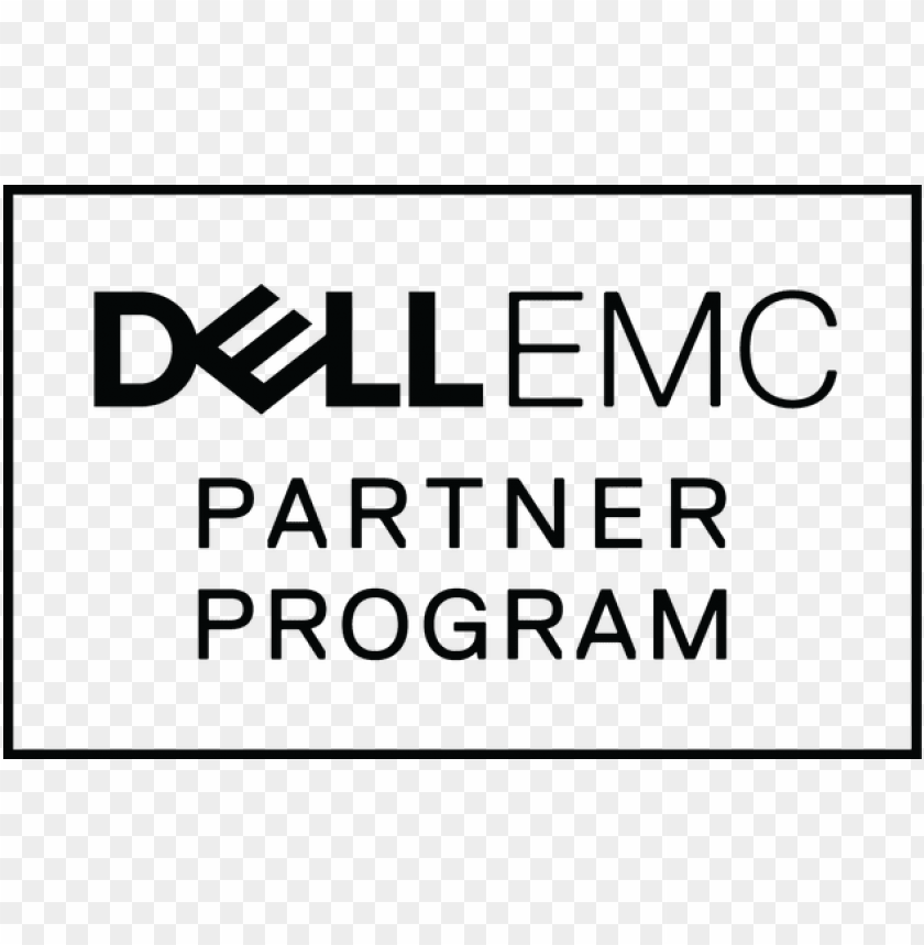 dell logo white png.