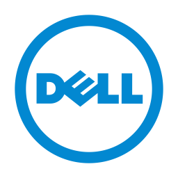 Dell Logo Icon of Flat style.