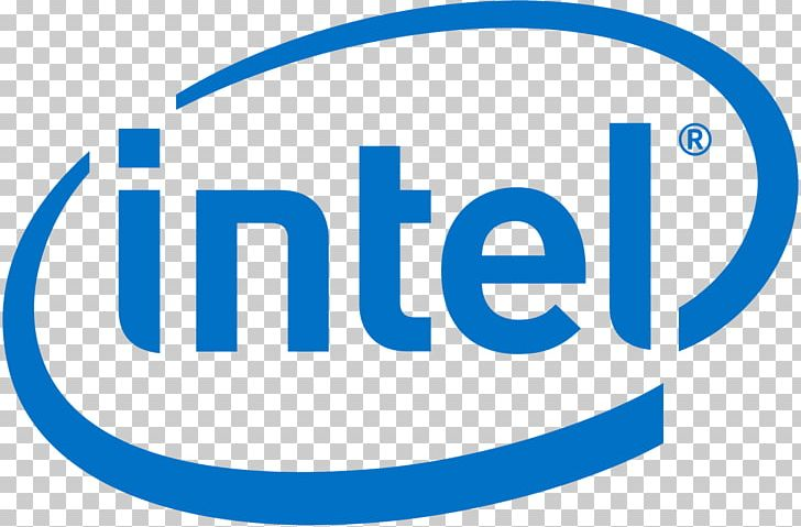 Intel Dell Logo PNG, Clipart, Area, Blue, Brand, Central Processing.