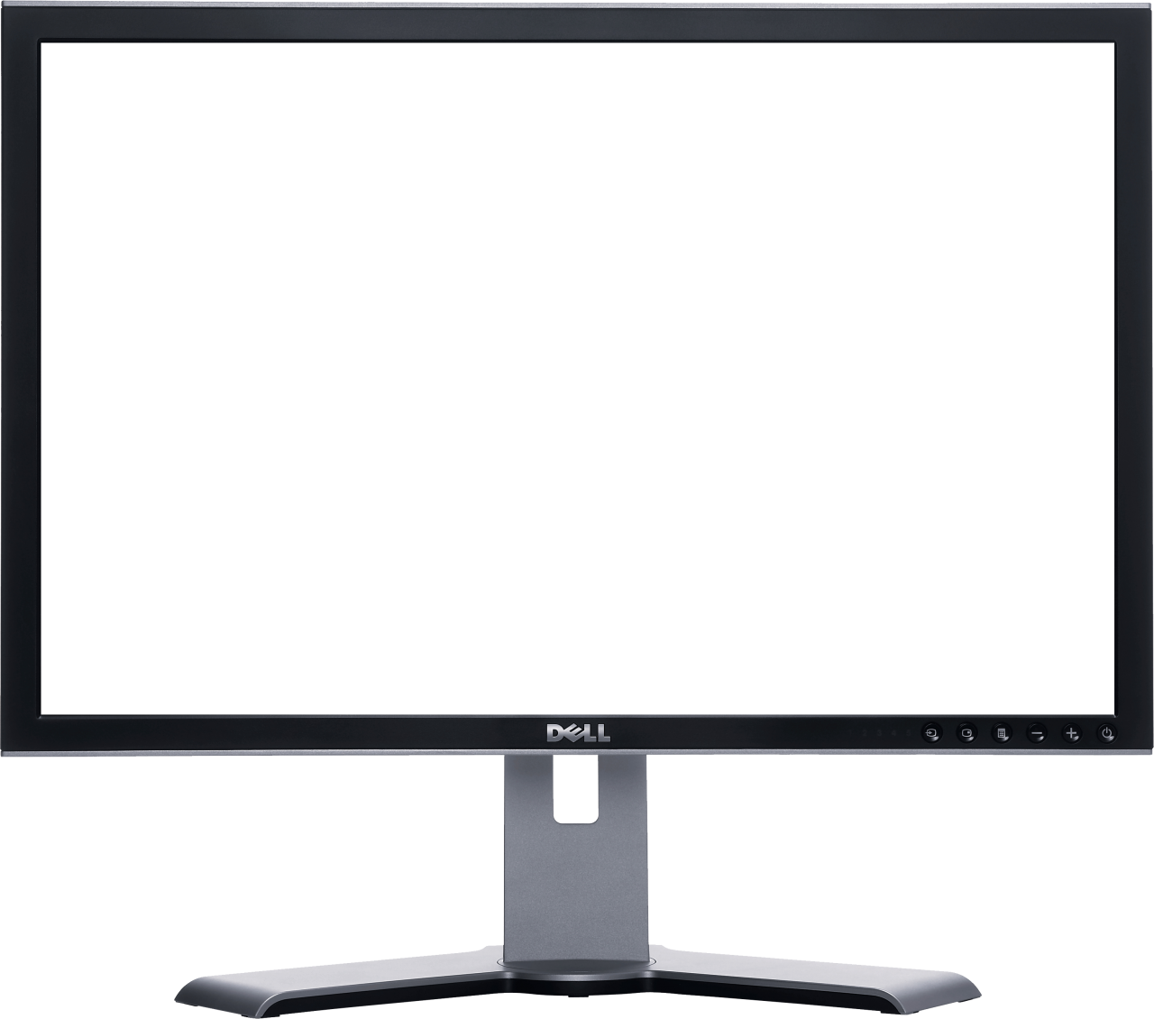 Dell Monitor PNG Image.