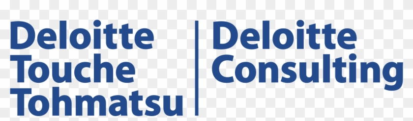 Deloitte Touche Tohmatsu Logo Png Transparent.