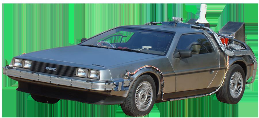 Time Machine Car Clipart.