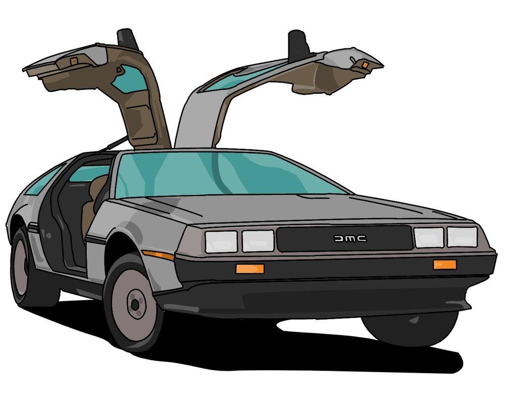 Showing post & media for Cartoon delorean cars.