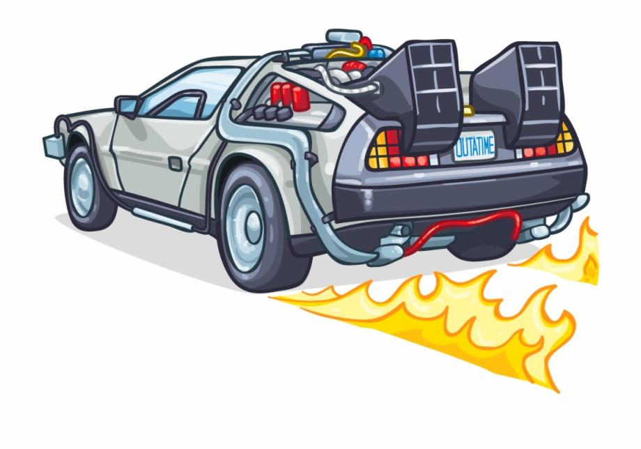 Back To The Future Delorean Clip Art.