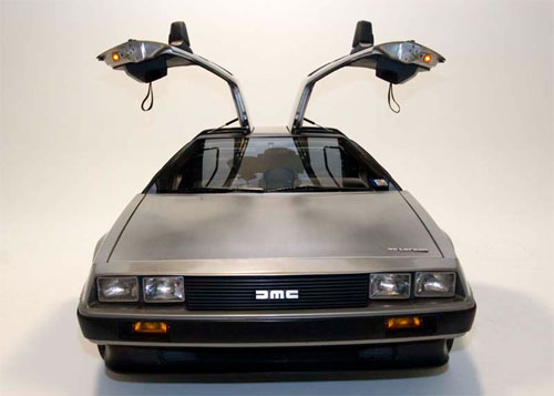 DeLorean logo, DeLorean Motor Company.