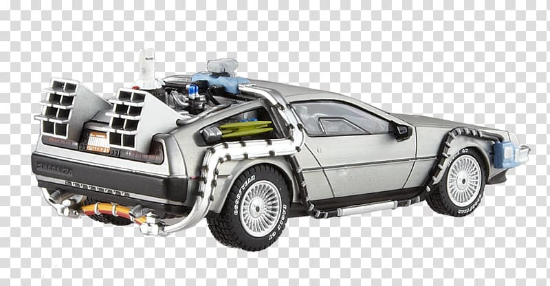 Marty McFly DeLorean DMC.