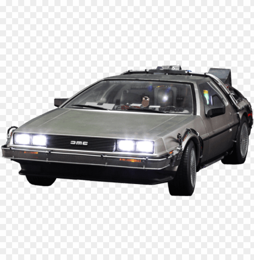 Download Free png Download delorean front back to the future png.