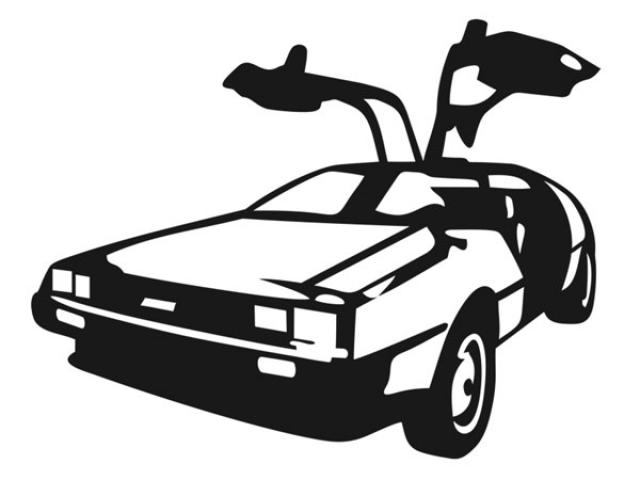 Download Free png Free Delorean Clipart, Download Free Clip.