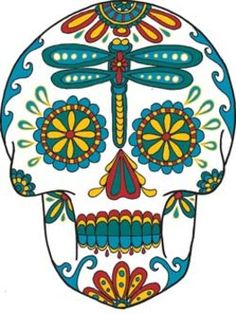 Day of the dead clipart free.