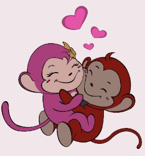 Monkeys in Love.