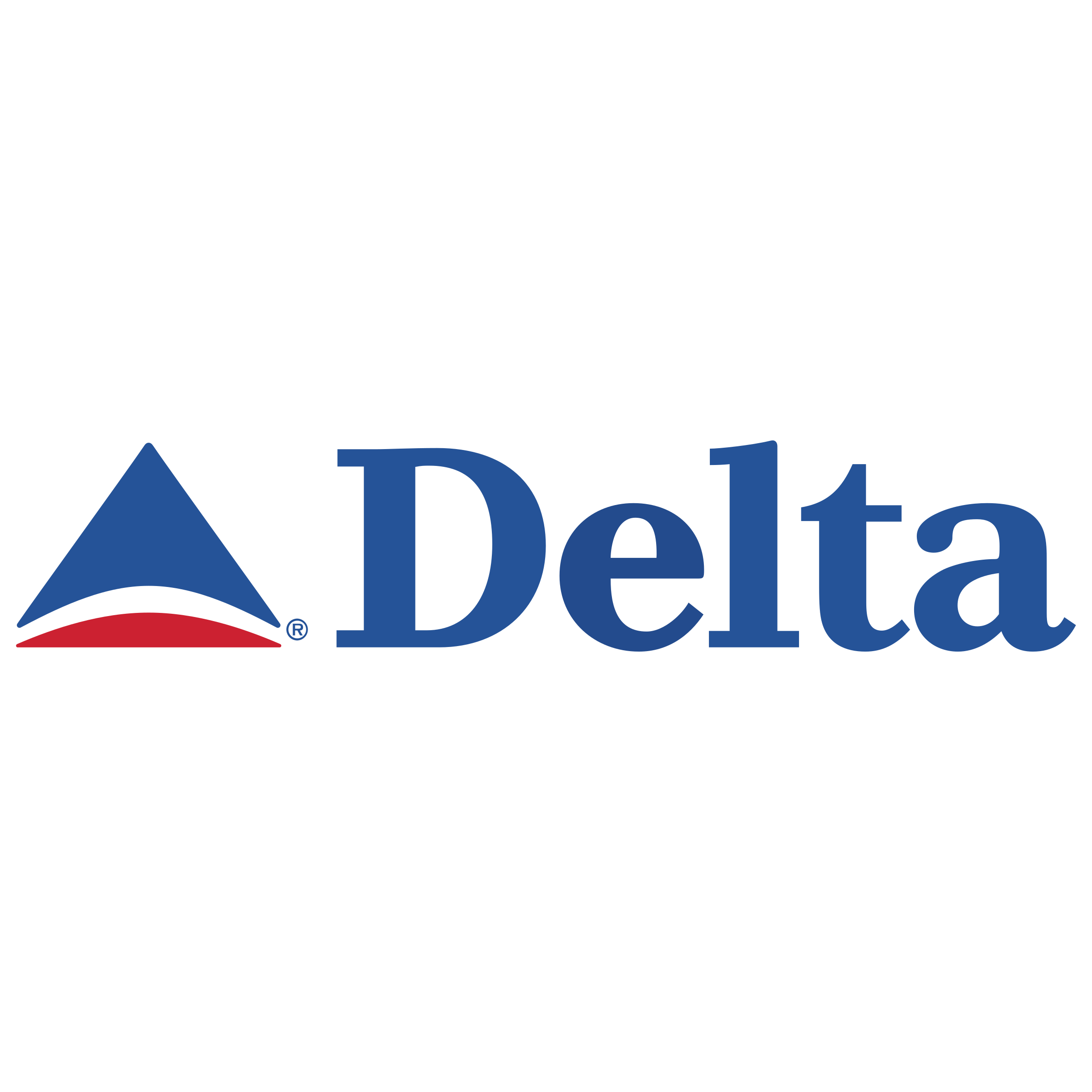 Delta Air Lines Logo PNG Transparent & SVG Vector.