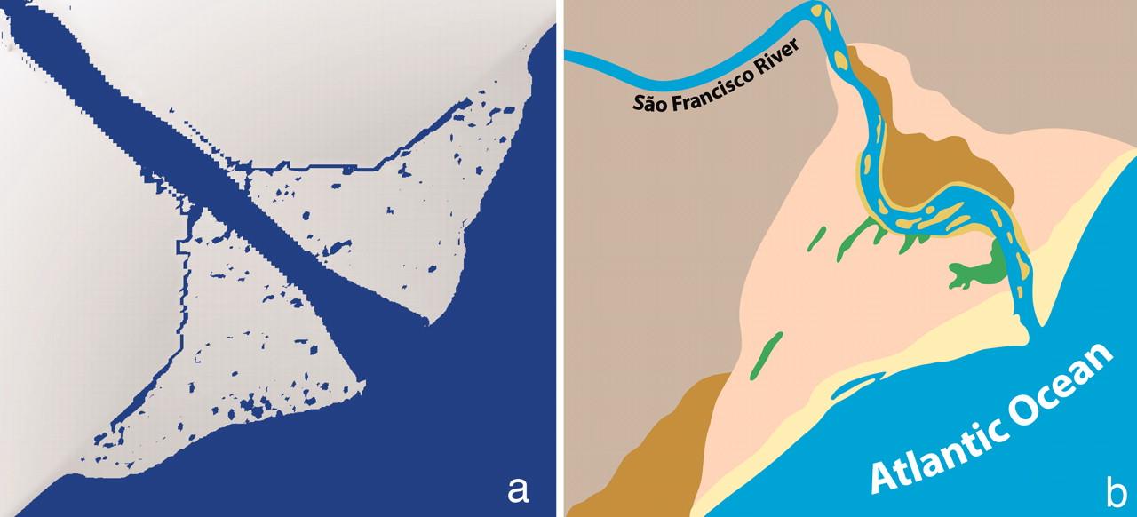 Clipart delta landform.