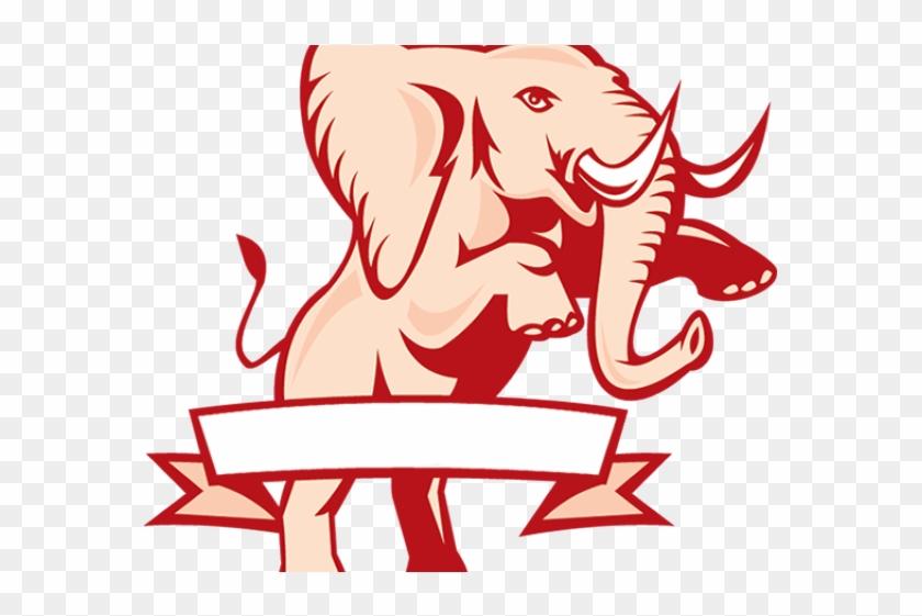 Delta Sigma Theta Elephant Png, Transparent Png.