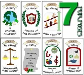 7 Purposes of The Delta Kappa Gamma Society International.