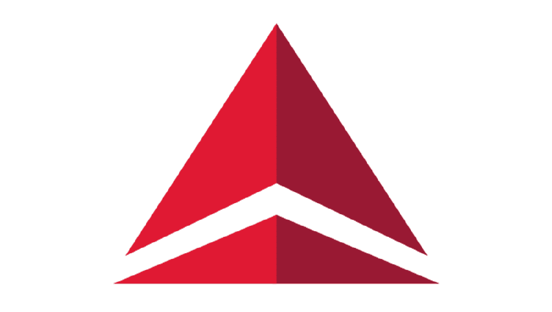 Meaning Delta Air Lines logo and symbol.